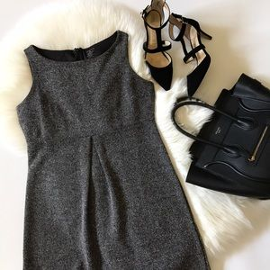 Lands' End tweed dress